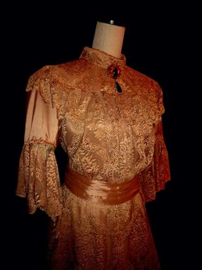 Custom Made Edwardian Early 1900'S Style Dress Bridal Or Costuming