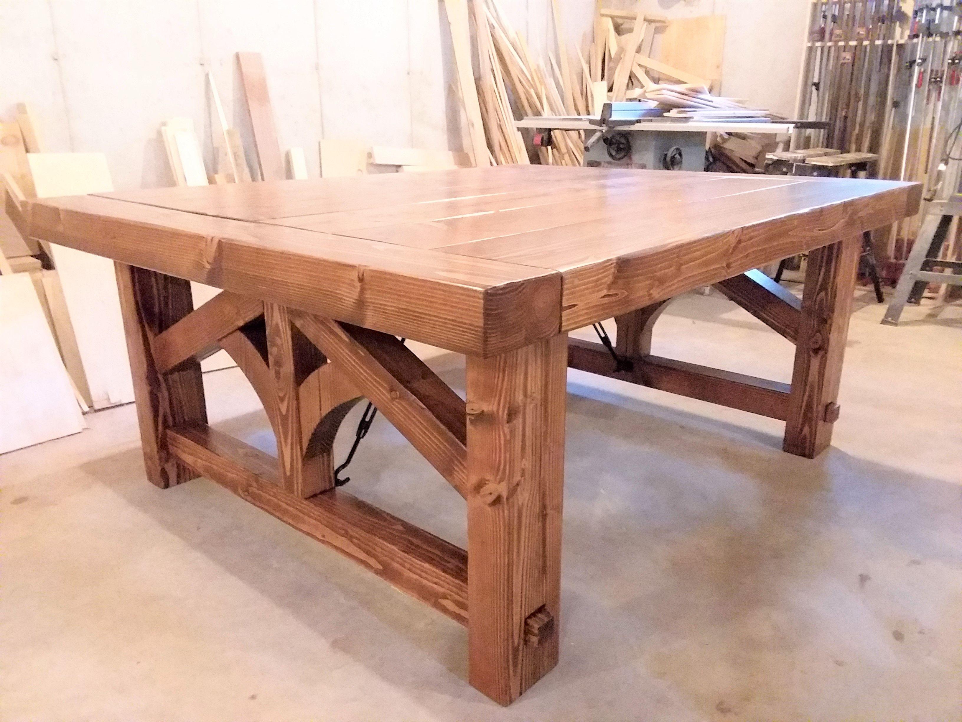 Custom Farmhouse Dining Table By