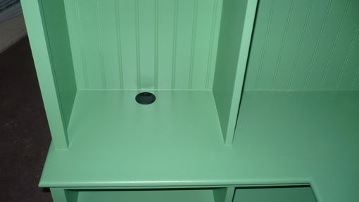 Custom Made Corner Mudroom Locker