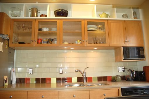 Custom English Oak Kitchen Cabinets Remodel