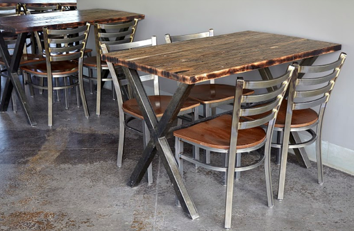 Custom Made Brewery Or Restaurant Tables