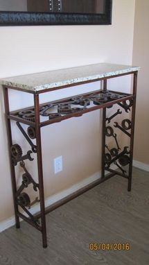 Custom Made Gears And Wrenches Table
