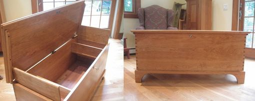 Custom Made Cherry Blanket Chest
