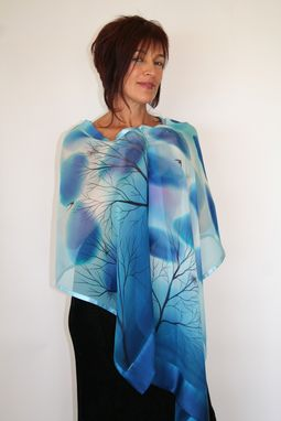 Custom Made Hand Painted Silk Scarf