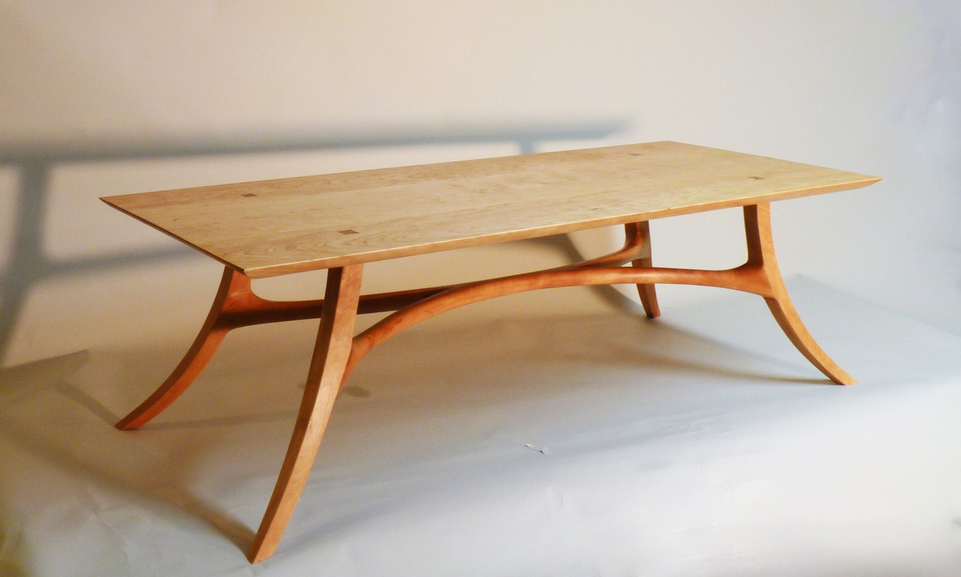 Handmade Sam Maloof Inspired Cocktail Table By J Blok
