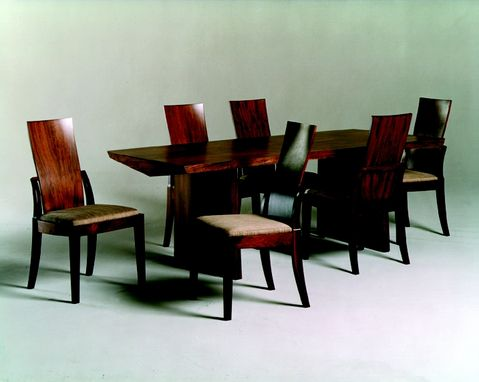 Custom Made Sahlin Dining Table, Pareirra Chairs