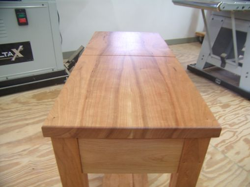Custom Made Hinged Lid Table