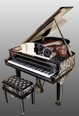 Custom Made Custom Piano - Tribute To Coco Chanel
