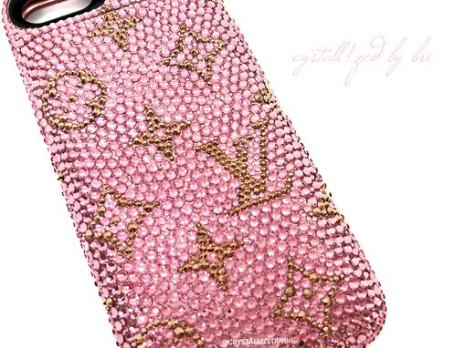 Custom Made Custom Design Crystallized Iphone Case Any Model Cell Phone Bling W/Swarovski Crystals Bedazzled
