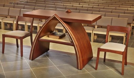 Beach Wedding Ceremony Oahu: Hand Made Altar Furniture By Michael Colca Furniture Maker