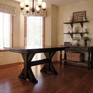 rustic elements furniture. Single \u0026 Double Pedestal Tables By Rustic Elements Furniture
