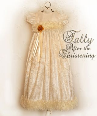 "Custom Made Tally ""After The Christening"" Outfit"