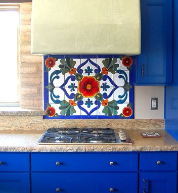 Custom Made Custom Backsplash Design