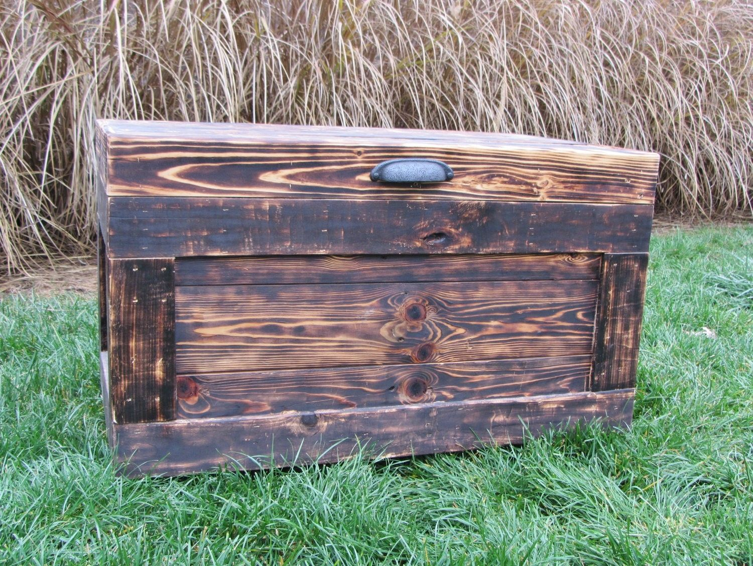 Hope Chests Wooden Handcrafted ~ Handmade wood chest made from reclaimed pallets