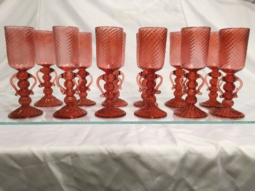 Custom Made Custom Goblets And Stemware