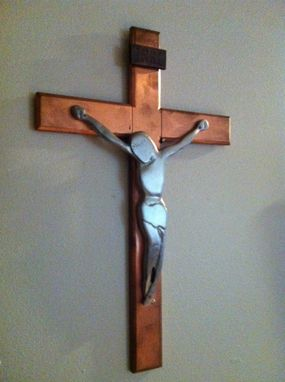 Custom Made Modern Crucifix