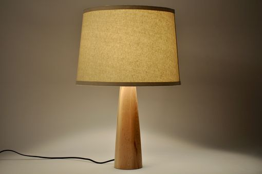 Custom Made Modern Maple Lamp