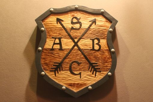 Custom Made Shield Signs, Family Crest Signs, Medieval Signs By Lazy River Studio