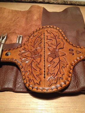 Custom Made Leather Tool Roll
