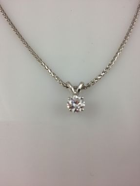 Custom Made Diamond Or Pearl Necklaces