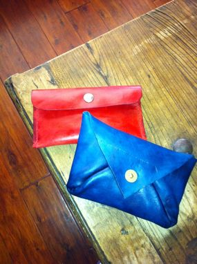 Custom Made Leather Clutches