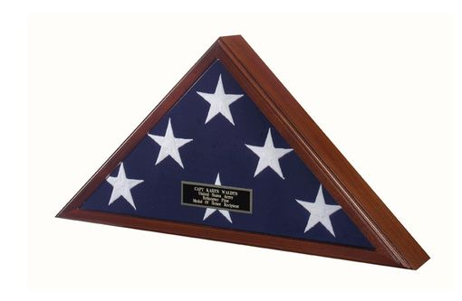 Custom Made Best Seller -Flag Display Case American Made