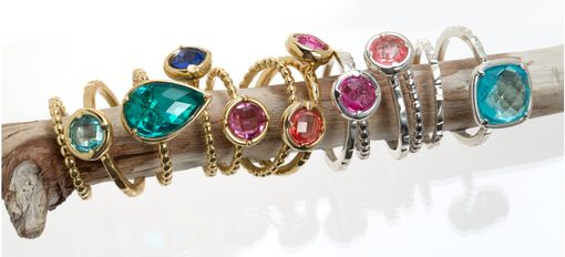 Custom Made Bezel Rings In Your Choice Of Shape, Metal And Stone