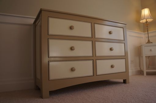 Custom Made Dresser And Changing Table Perfect For Nursery Or Child's Room