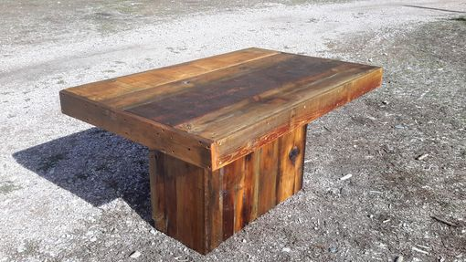 Custom Made Barnwood Dining Table