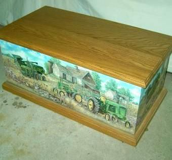 Custom Made Chest John Deere