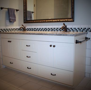 Custom Made European Bathroom Vanity