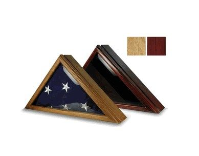 Custom Made Coast Guard Display Case For 5ft X 9.5ft Flag
