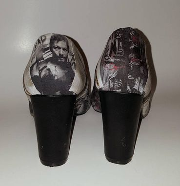 Custom Made The Walking Dead Heels, Size 7.5