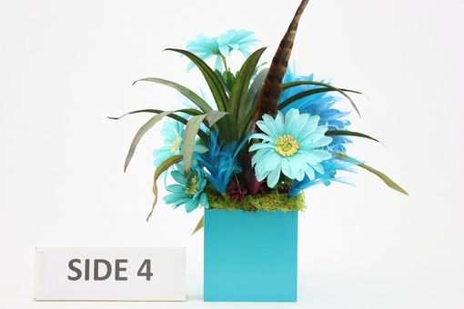 Custom Made Unique Home Décor Silk Flower Arrangement, Coffee Table Centerpiece, Vanity Decor, Kitchen Decor