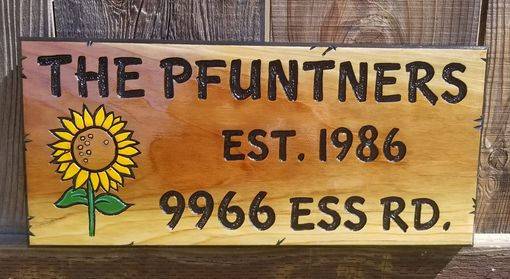 Custom Made Redwood Signs Made To Order