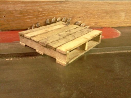 Custom Made Skid (Pallet) Coaster