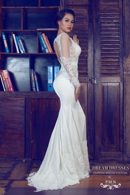 Custom Made Couture Custom Made Wedding Dress-Custom Order (#Pb091)