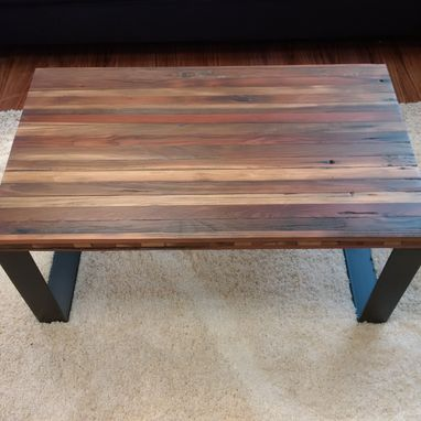 Custom Made Reclaimed Barnwood Coffee Table
