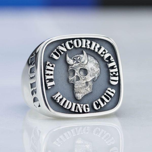 Custom Biker Rings  Design Your Own Motorcycle Club Ring  CustomMade.com
