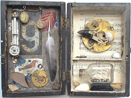 Custom Made Assemblage Art