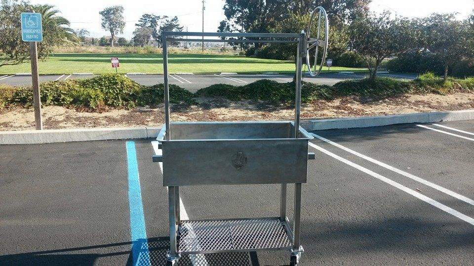Custom Made Stainless Santa Maria Style Bbq Grill by JD ...