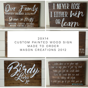 custom metal signs