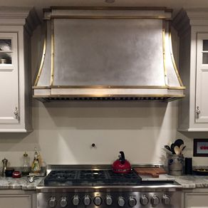 Br And Stainless Range Hood By Justin Pf