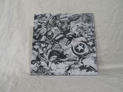 Custom Made Vintage T-Shirt Wall Decor Marvel Comics