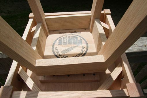 Custom Made Buman Bar Stool