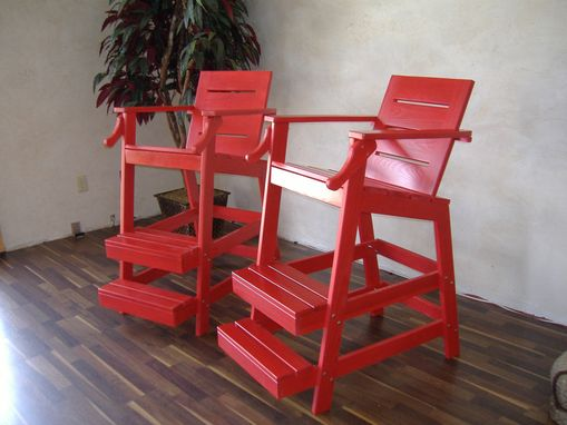 Custom Made Life Guard Chair
