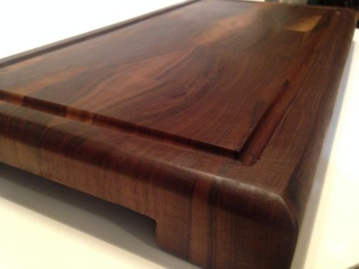 Custom Made Walnut And Maple End Grain Chopping Block / Cutting Surfice