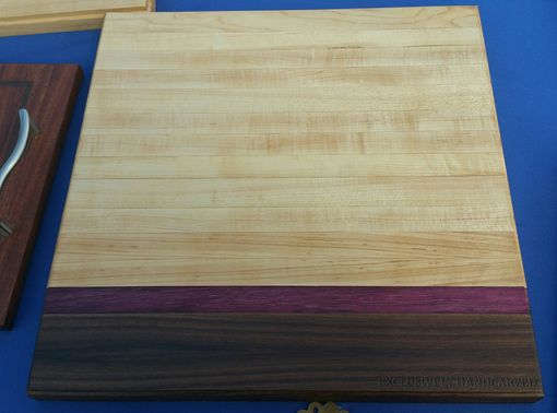 Custom Made Exotic Cutting Board