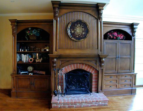 Custom Made Grand Fireplace Surround