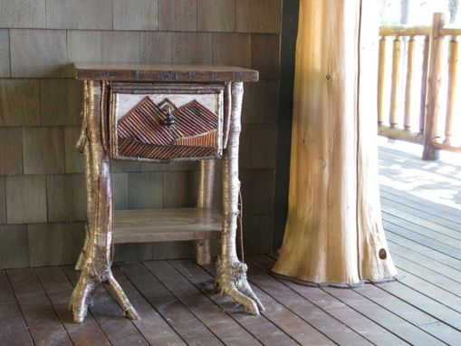 Custom Made Rustic End Table